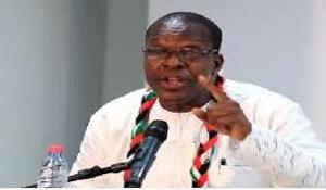 Alban Kingsford Sumani Bagbin wants to be NDC's flagbearer