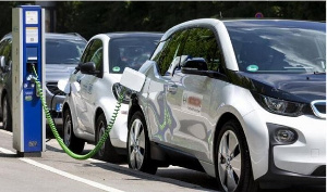 File photo of an electric car