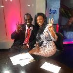 Watch what Honourable Aponkye did at Nana Aba Anamoah's birthday party