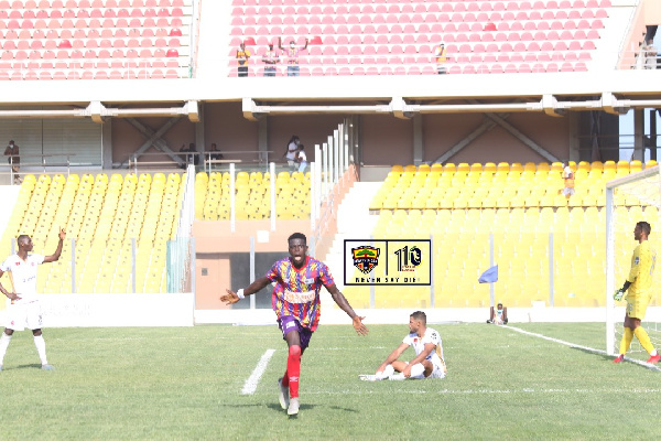 CAF Champions League: Hearts of Oak pip Wydad to gain advantage in first leg