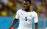 Essien was a core member of the Black Stars from 2002 to 2014