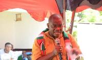 Slyvester Mensah, NDC presidential aspirant hopeful