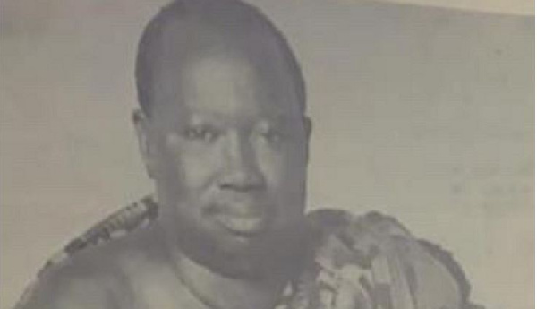 K.K Siaw, the Ghanaian industrialist credited with the establishment of Guinness Ghana Breweries