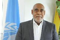 UN Resident Cordinator, Charles Abani