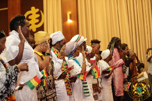 A section of the diasporans