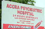 The Accra Psychiatric Hospital offers support to the mentally challenged persons