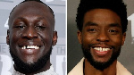 Chadwick Boseman (R) died of cancer at age 43