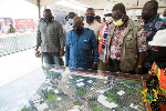 Obetsebi-Lamptey Interchange 92% complete, Jamestown Fishing Harbour 15% complete