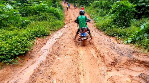 File photo: A section of a road in the country