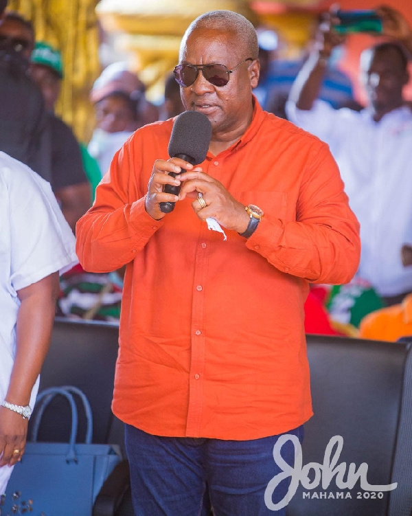 2020 Elections: Kick Akufo-Addo's \'corrupt government\' out – Mahama