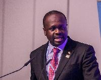 Minister of Communications, Dr Edward Omane Boamah