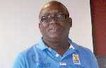 President of the Ghana Hockey Federation Richard Akpokavie