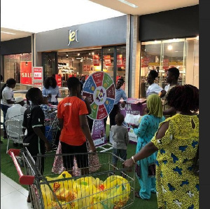 Achimota Mall has decided to pamper customers with gifts