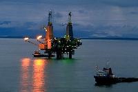 Ghana's oil rig