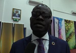 Daniel Kwesi Afari, acting-country head of UN Youth Ghana