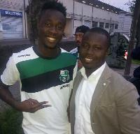 Ghana forward, Richmond Boakye Yiadom