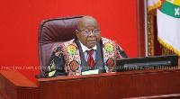 Speaker of Parliament, Professor Mike Oquaye