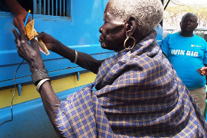 Old Woman Poverty