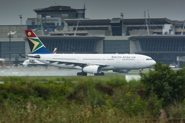 South African Airways operations suspended