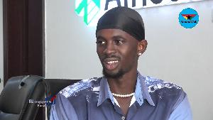 Rapper Black Sherif