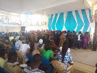 The Aganah Family joins the Holy Ghost Temple Assemblies of God Church in Bolga
