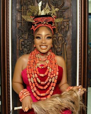 Ghanaian actress and socialite Moesha Boduong