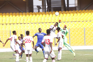 Great Olympics were unable to match WAFA