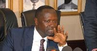 The Minister of Petroleum, Emmanuel Armah Kofi Buah