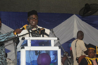 Dr Samuel A. Atintono was speaking at 11th Congregation of Accra College of Education