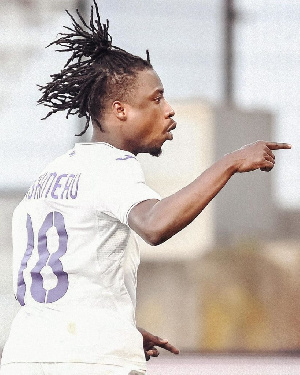 Ghana midfielder, Majeed Ashimeru