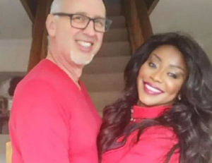 Stephanie Benson and her husband