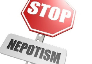 Nepotism is the practice among those with power or influence of favouring relatives or friends