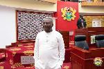 Member of Parliament for the Keta Constituency, Kwame Dzudzorli Gakpey
