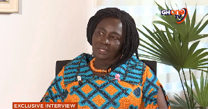 Vice Presidential Candidate for the NDC, Professor Jane Naana Opoku-Agyemang
