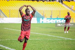Kwame Poku Goal