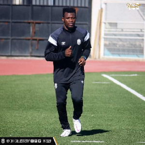 Ghanaian footballer, Daniel Lomotey