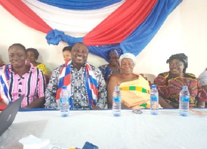 Some members of the Adepa fun club at a meeting