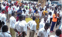 Trainee teachers have picketed severally against the scrapping of their allowances