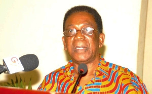 Professor Kwesi Yankah, the Minister of State in charge of Tertiary Education