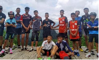 the young footballers were taught survival skills such to relieve stress while trapped in the cave