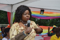 Dr. Mrs. Beatrice Wiafe Addai, a leading breast cancer campaigner