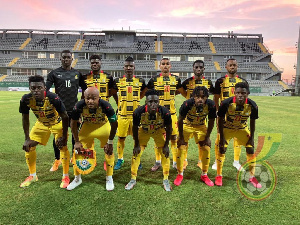 Black Stars will face South Africa in a Group game