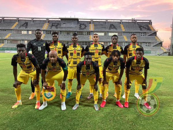 Akonnor sends goodwill message to Black Stars players who have tested positive for coronavirus