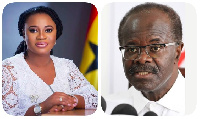 [L-R] EC Chair Ms Osei and Dr Nduom, PPP presidential nominee