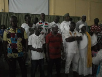 Newly elected executives for Anyaa-Sowutuom constituency