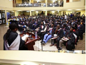 File photo - Graduating students