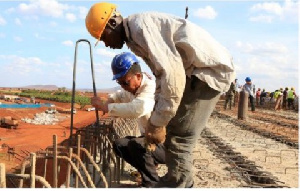 File photo: The contractors will be supervised by 20 Ghanaian consulting firms