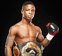 Duke Micah won the WBC belt at the Bukom Boxing Arena