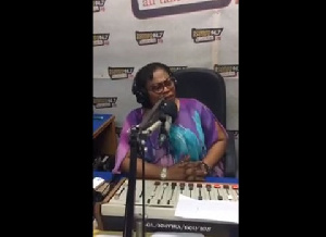 In an interview with Maame Akua, the husband indicated he is aware of what his wife does