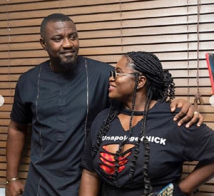John Dumelo and Lydia Forson